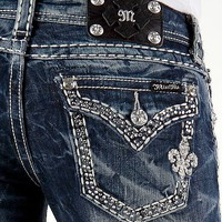 Miss Me Rhinestone Boot Stretch Jean - Women&#x27;s Jeans | Buckle