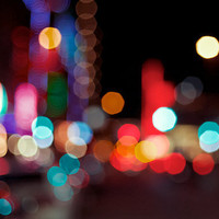 City Lights Fine Art Photograph Print 8 x 10 by KristinKirkley