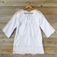 Lunar Shadows Blouse, Sweet Cozy Lace Tops