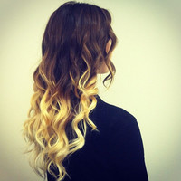 Single Color Ombre&#x27; 3 Bundles Blonde