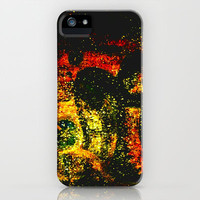glittering iPhone Case by agnes Trachet