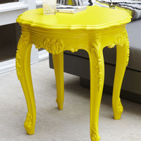 Outdoor Baroque Side Table - Horchow