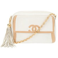 Chanel Vintage Chain Shoulder Bag - Rewind Vintage Affairs - farfetch.com