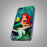 Beautiful Disney Ariel Mermaid - Photo on Hard Cover For iPhone 5