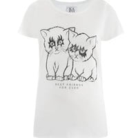 Best Friends For Ever T-shirt | Zoe Karssen | Matchesfashion.com