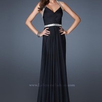 La Femme 18476 Black Evening Gown