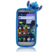 Amazon.com: Disney Stitch Hide and Seek Silicone Case Cover for Samsung Galaxy S III/S3 GT-I9300 - Blue: Cell Phones & Accessories