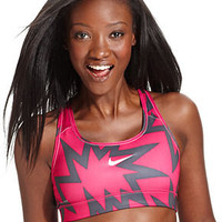 Nike Top, Pro Dri-FIT Printed Sports Bra - Womens Sports Bras - Macy&#x27;s