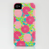 Dancing Dahlia iPhone Case by Diane Kappa | Society6