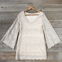 Lace Blossom Dress, Sweet Women's Country Clothing