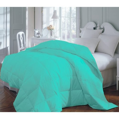 teal premium xl twin dorm comforter set from amazon home. Black Bedroom Furniture Sets. Home Design Ideas