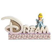 ''Dream'' Cinderella Figurine by Jim Shore | Disney Store