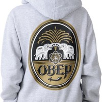 Obey Girls IPA Grey Pullover Hoodie at Zumiez : PDP