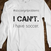 #soccergirlproblems