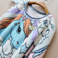 Moon Shine Apparel  Sweet Pony Sweat