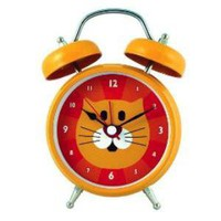 Cat Talking Clock
