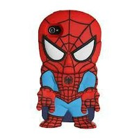 Amazon.com: Marvel Chara-Cover Series 1 iPhone Cover 4/4S - Spiderman: Cell Phones &amp; Accessories