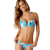 Maddie Pushup Floral Bikini Top | Aerie for American Eagle