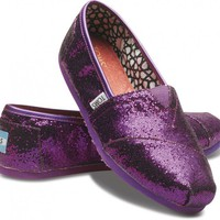 Purple Women&#x27;s Glitters | TOMS.com