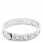 Coach :: Signature c Hinged Bangle