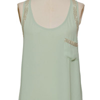 Mint Pocket Tank