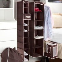 5 Piece Dorm Closet Set - Storage