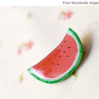 Watermelon Party Brooch (BH003)