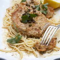 Veal Piccata Recipe : Emeril Lagasse : Food Network