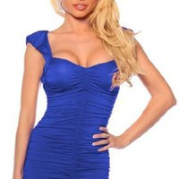 Amazon.com: Sexy Cocktail Party Clubwear Fitted Hot Prom Mini Dress S M L: Clothing