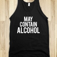 May Contain Alcohol (Dark Tank) - Party Fun