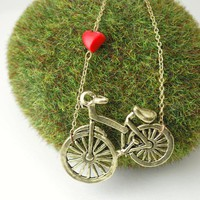 Chase that Dream Necklace Bicycle Jewelry