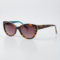 Color-Backed Betty Sunglasses