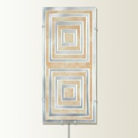 Illuminada - Geo I Wall Sconce Light (8815) - Wall Sconce Lights