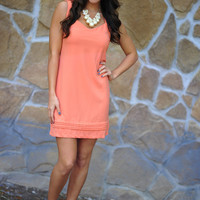 Let&#x27;s Watch The Sunset Dress: Coral | Hope&#x27;s
