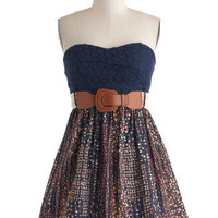 Chrysanthemum Fields Forever Dress | Mod Retro Vintage Dresses | ModCloth.com