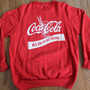 vintage Coca Cola sweatshirt crewneck It's the by oldtimeytime