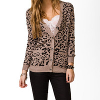 Leopard Print Cardigan