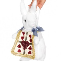 Alice in Wonderland Costumes - Cute White Rabbit Purse