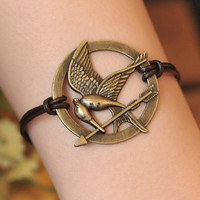 HUNGER GAMES braceletinspired mockingjay bracelet by fantasticgift