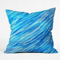DENY Designs Home Accessories | Rosie Brown They Call It The Blues Throw Pillow