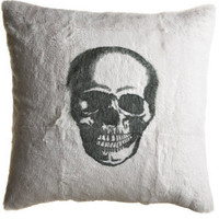 Skull Rabbit Pillow :: PILLOWS :: HOME :: Calypso St. Barth