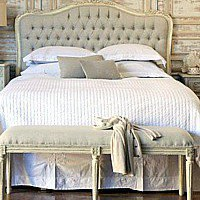Eloquence Sophia Upholstered Tufted Headboard Old