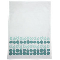 Browsing Store - Lotta Jansdotter Leaves Dishtowel