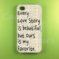 Amazon.com: Iphone 4s Case - Our Story Iphone Case, Iphone 4 Case: Cell Phones &amp; Accessories