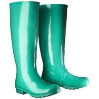 Women's Classic Knee High Rain Boot - Cicley Leaf Green