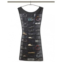 Little Black Dress Hanging Jewelry Organizer