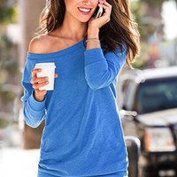 Fleece Off-the-Shoulder Tunic - Supermodel Essentials - Victoria&#x27;s Secret
