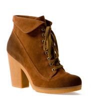 HEELED CREPE ANKLE BOOTS - SHOES - WOMAN - Slovakia