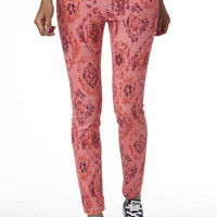Desert Ikat Print Skinny Jean