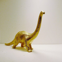 dinosaur pop art // upcycled kitsch figurine // by nashpop